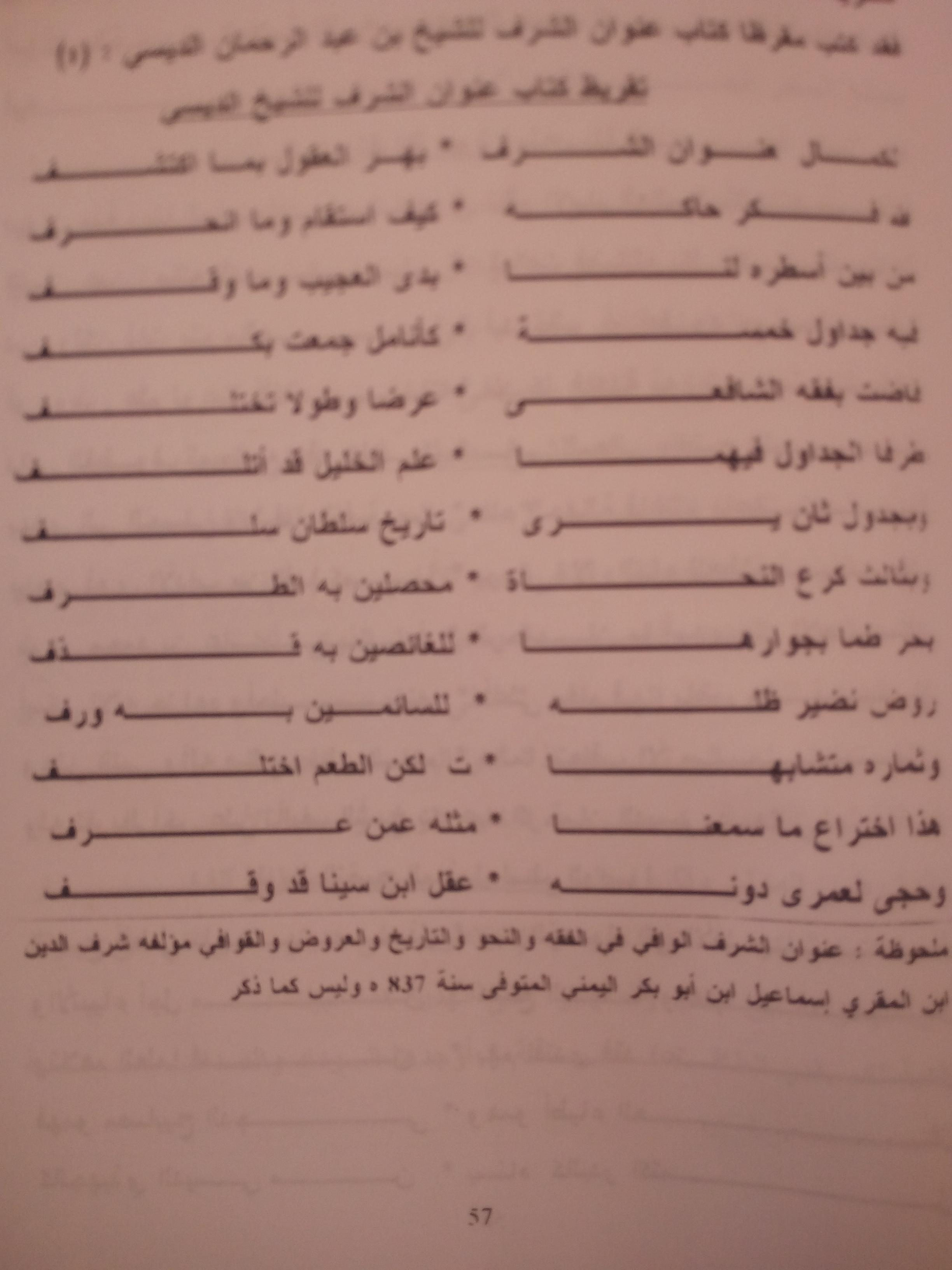 تقريض الشيخ سي عطية لكتاب الإمام عبدالرحمن الديسي